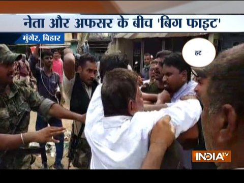Bihar: BJP leader and SDO scuffle over demolition of illegal