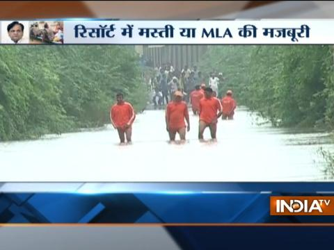 Congress MLAs skip their visit to flood-hit areas in Gujarat, alleges CM Vijay Rupani