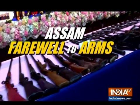 644 आतंकवादियों ने असम में किया आत्मसमर्पण