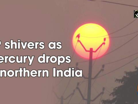 UP shivers as mercury drops in northern India