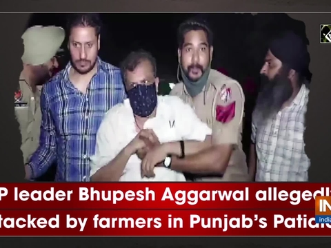 BJP leader Bhupesh Aggarwal allegedly attacked by farmers in Punjab's Patiala