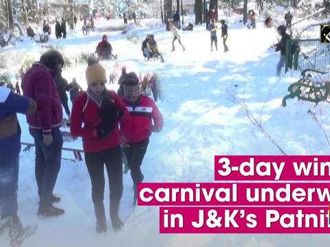 3-day winter carnival underway in J-K's Patnitop