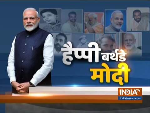 गुजरात: पीएम मोदी ने नर्मदा जिले के केवडिया में खलवानी इको-टूरिज्म साइट का किया दौरा