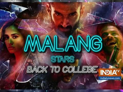 फिल्म 'मलंग' का प्रमोशन करने मुंबई के एनएम कॉलेज पहुंचे दिशा पटानी और आदित्य रॉय कपूर