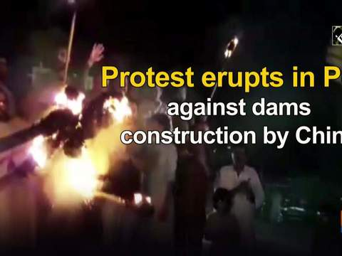 Protest erupts in PoK against construction of dams by China