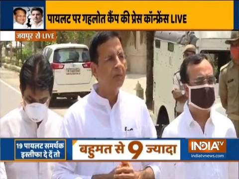 सचिन पायलट को उपमुख्यमंत्री और राजस्थान पीसीसी चीफ के पद से हटाया गया