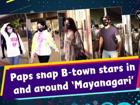 Paps snap B-town stars in and around 'Mayanagari'