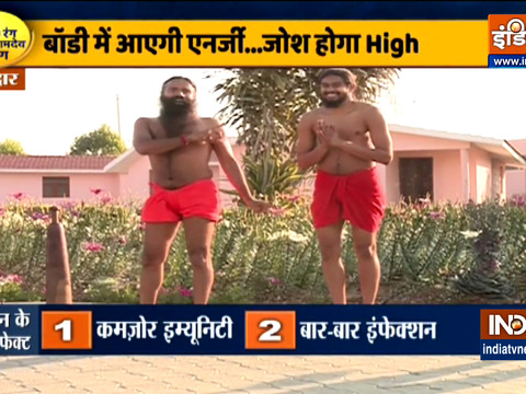 Know from Swami Ramdev which are the 12 dand baithaks beneficial for weight gain