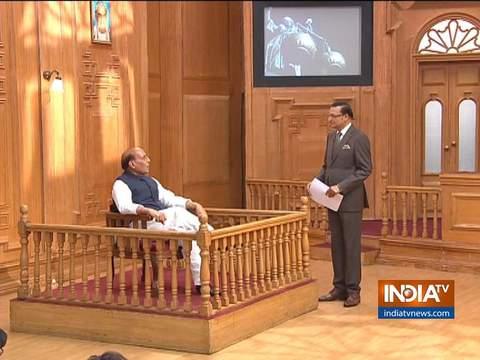 'आप की अदालत' में राजनाथ सिंह : 'पीओके भारत का था, है और रहेगा'