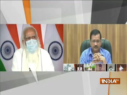 When PM Modi reprimanded Delhi CM Arvind Kejriwal over 'protocol break' during Covid meet