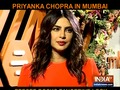 Priyanka Chopra stuns in tangerine look at Mumbai event