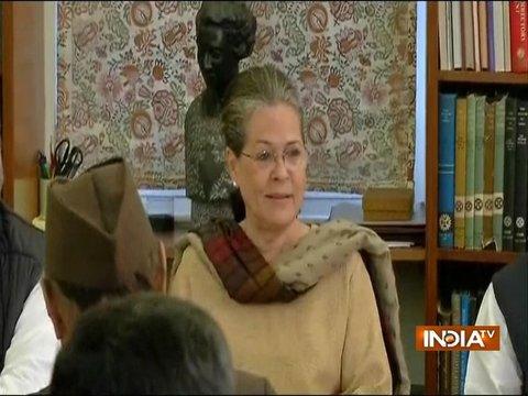 Sonia Gandhi calls Rahul Gandhi her boss during Congress parliamentary board meeting