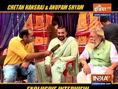Chetan Hansraj, Anupam Shyam talk about their experience of shooting first scene together for Pratigya 2