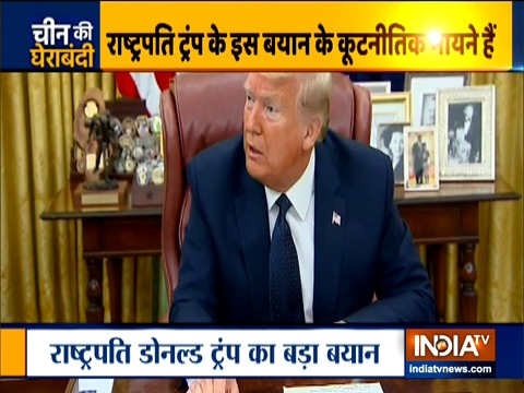 PM Modi is not in a good mood about what's going on with China: Donald Trump