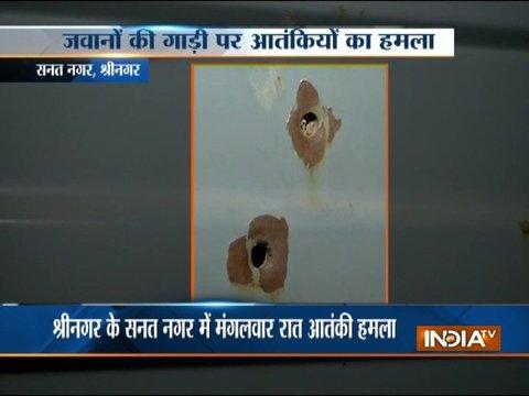 J&K: Militants target CRPF convoy in Srinagar, no casualties