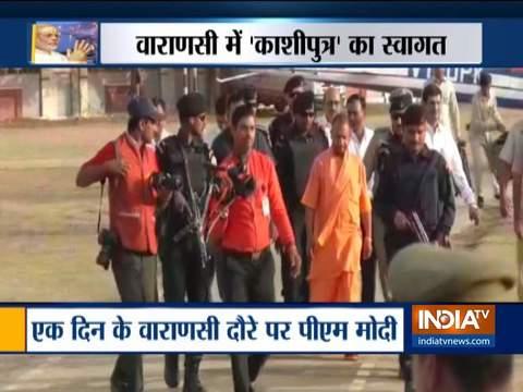 UP CM Yogi Adityanath assesses preparations ahead of PM Modi's Varanasi visit