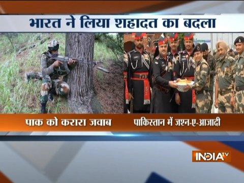 भारतीय सैनिकों ने पाकिस्तान से लिया बदला, loc पर तंगधार सेक्टर में सेना ने पाकिस्तान के दो सैनिकों को मार गिराया