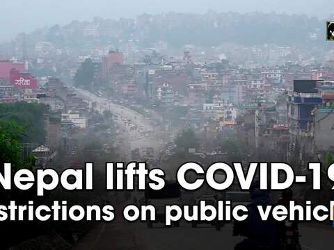 Nepal lifts COVID-19 restrictions on public vehicles