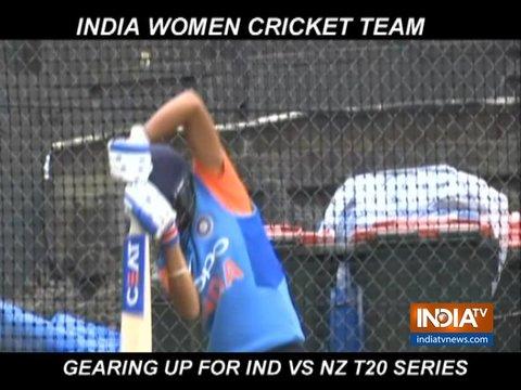 न्यूजीलैंड के खिलाफ टी20 सीरीज में जीत दर्ज करने की तैयारी में जुटी टीम इंडिया