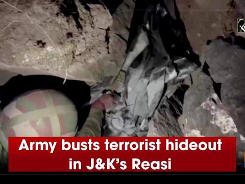 Army busts terrorist hideout in J&K's Reasi