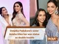 Deepika Padukone's sister Anisha titles her wax statue as double trouble