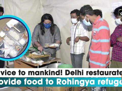 Service to mankind! Delhi restaurateurs provide food to Rohingya refugees