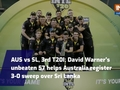 Australia vs Sri Lanka, 3rd T20I: David Warner's unbeaten 57 helps Australia register 3-0 sweep over Sri Lanka