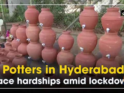 Potters in Hyderabad face hardships amid lockdown