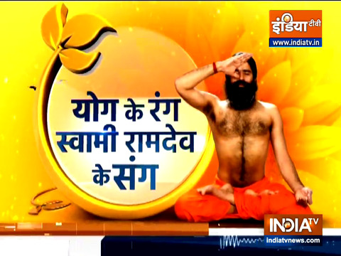 Learn Ayurvedic treatment and yogasanas from Swami Ramdev to get rid of diabetes
