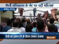 Women municipal workers in Sonipat protest against administration for not fulfilling their demands