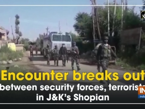 Encounter breaks out between security forces, terrorists in J-K's Shopian