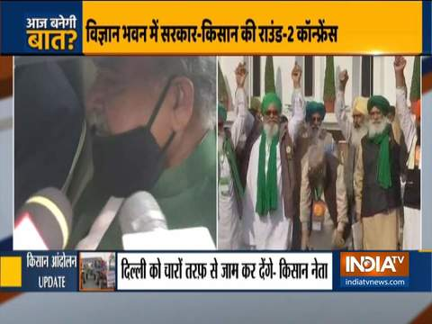 Amarinder Singh arrives at Amit Shah's residence, Tomar reaches Vigyan Bhawan for talks