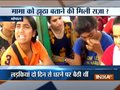 Girls protest against Shivraj Singh, demand relaxation in height criteria in police recruitment