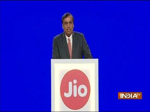 Mukesh Ambani Launches Jio Giga Fiber at Reliance 41st AGM
