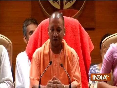 Gorakhpur Hospital Tragedy: UP CM Yogi Adityanath addresses a press conference in Lucknow