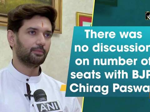 There was no discussion on number of seats with BJP: Chirag Paswan