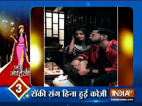 Hina Khan parties with boyfriend Rocky Jaiswal after a sizzling photoshoot
