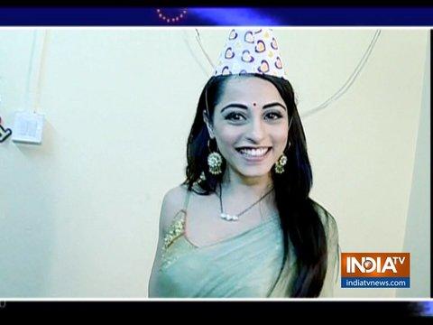 Piya celebrates birthday on Nazar sets. Watch video