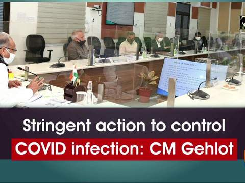 Stringent action to control COVID infection: CM Gehlot