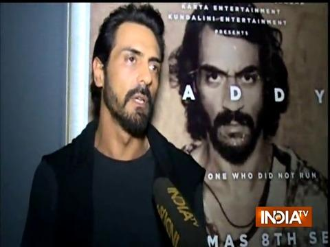 Arjun Rampal talks about his upcoming film Daddy