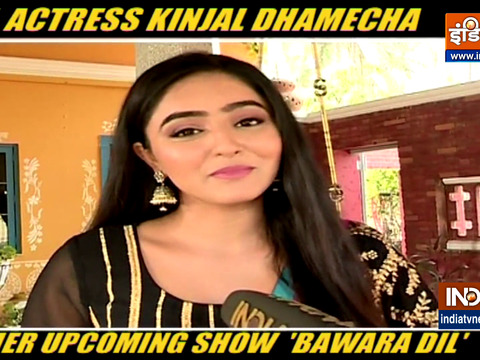 Actress Kinjal Dhamecha gets candid about her debut show Bawara Dil