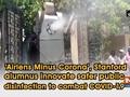 'Airlens Minus Corona', Stanford alumnus innovate safer public disinfection to combat COVID-19