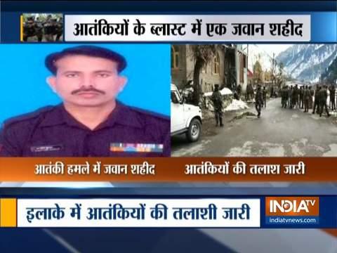 जम्मू-कश्मीर के अखनूर सेक्टर में IED ब्लास्ट में सेना का जवान शहीद, दो घायल