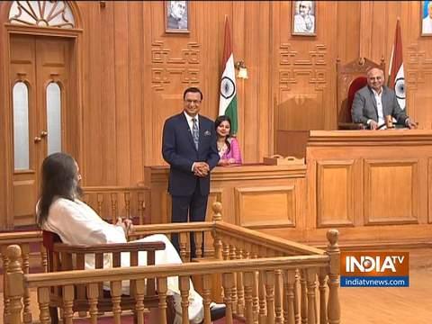 आप की अदालत में श्री श्री रविशंकर: मेरे कार्यक्रम से पर्यावरण को कोई नुकसान नहीं हुआ