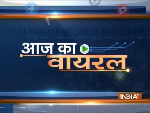 Aaj ka Viral: Truth behind purification ceremony performed at Ayodhya's Sarayu