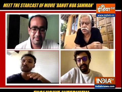 In conversation with star cast of Bahut Hua Sammaan