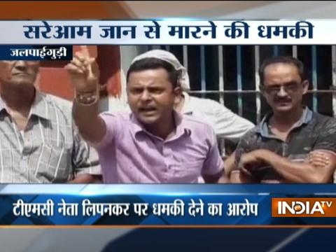TMC leader threatens BJP supporters to chop into pieces in Jalpaiguri