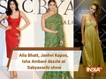 Alia Bhatt, Janhvi Kapoor dazzle at 20 Years of Sabyasachi show