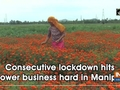 Consecutive lockdown hits flower business hard in Manipur