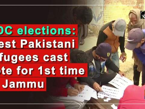 DDC elections: West Pakistani refugees cast vote for 1st time in Jammu